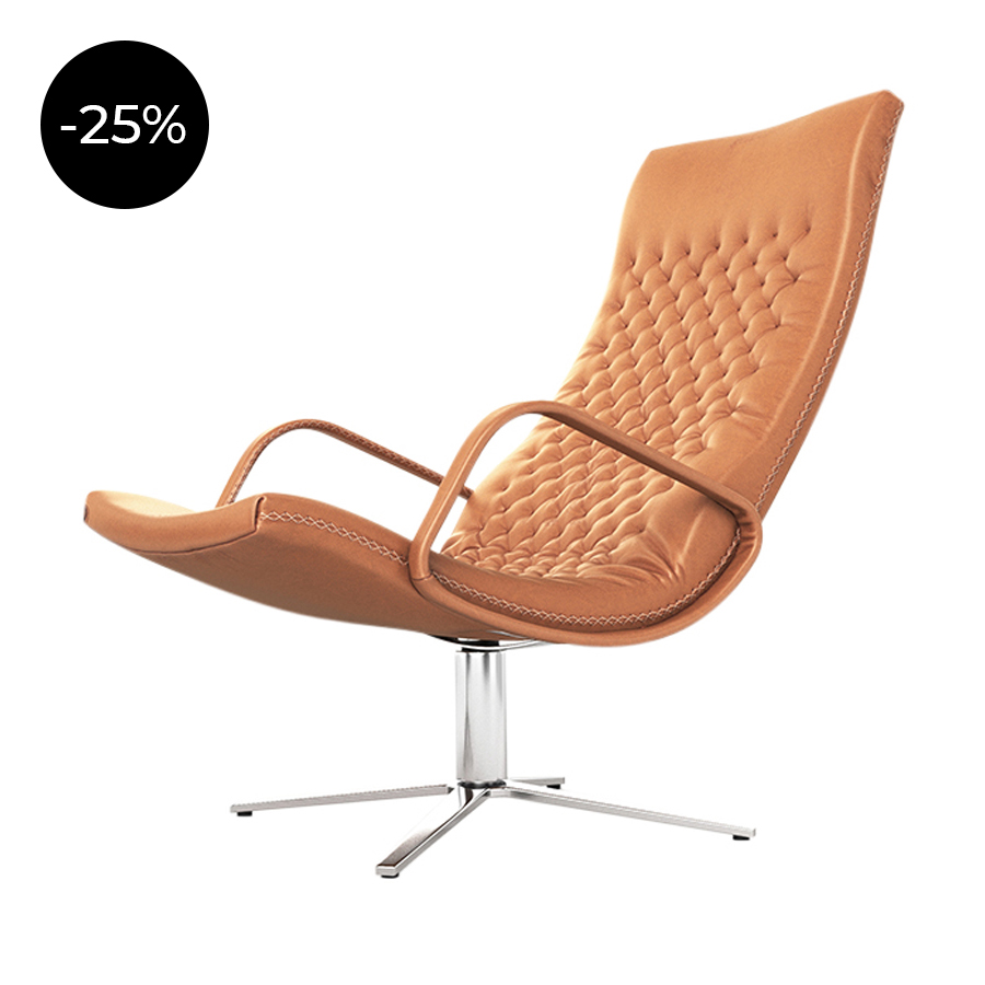 De Sede Sessel Ds 51 Ds 51 High Back Chair With Armrests The Dezign Group