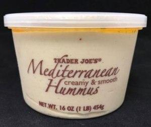 Trader Joe Hummus rappel