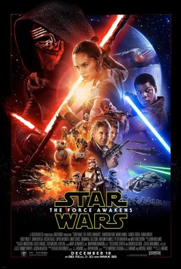 The Force Awakens One Sheet