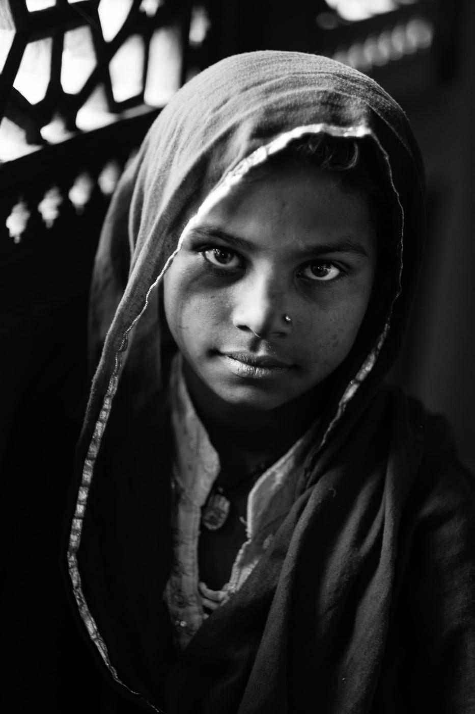 Another girl at Nizamudeen