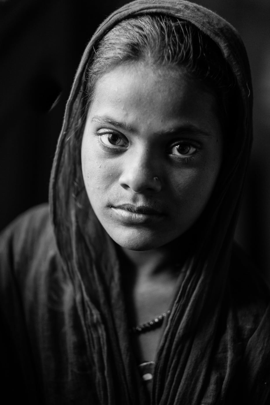 Girl at Nizamudeen