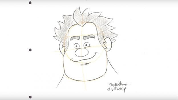 How to Draw Wreck-it Ralph The Disney Blog
