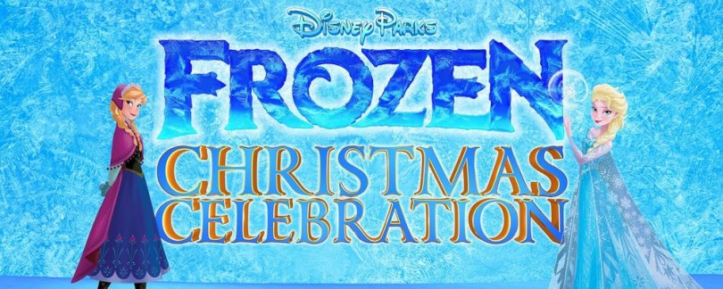 frozen christmas celebration