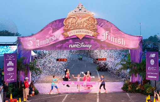 Feb 24, 2013  - Lake Buena Vista-  FL  Disney Princess 1/2 Marathon  Photo by Preston Mack