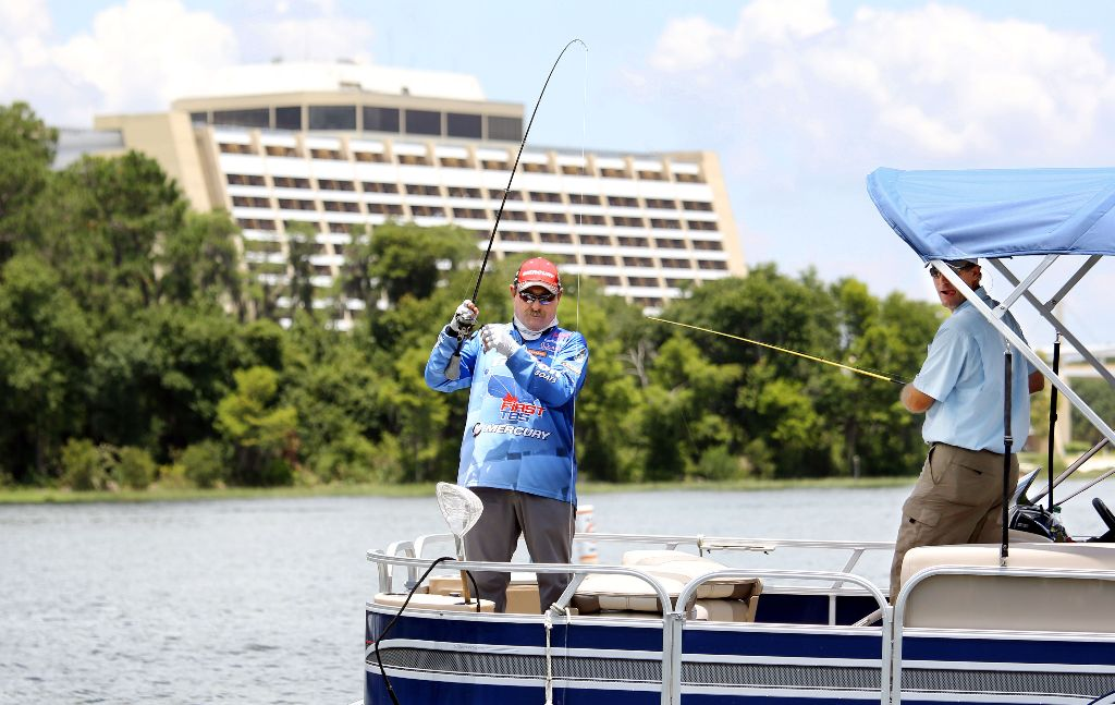 Legendary pro angler shaw grigsby s top 5 tips for fishing for Fishing at disney world