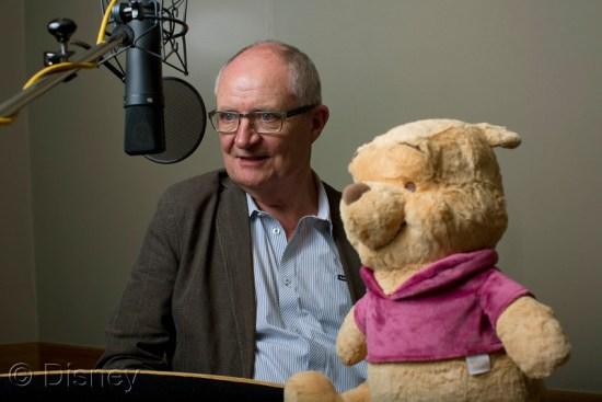Jim Broadbent At Winnie The Pooh Plush Audio Book Recording