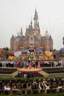 Shanghai Disneyland grand opening