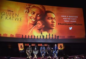 """Live Q & A With """"Queen Of Katwe"""" Director And Cast Reaches Fans Around The Globe"""