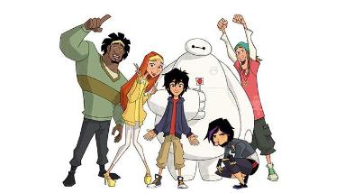 Big Hero 6 animated Series