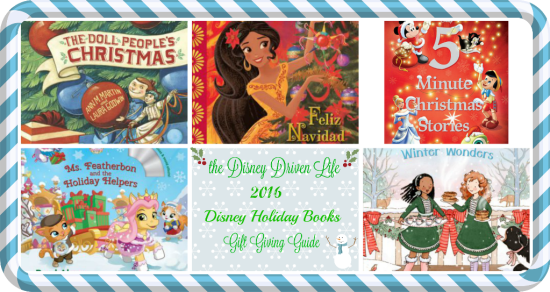 2016 disney holiday books gift giving guide
