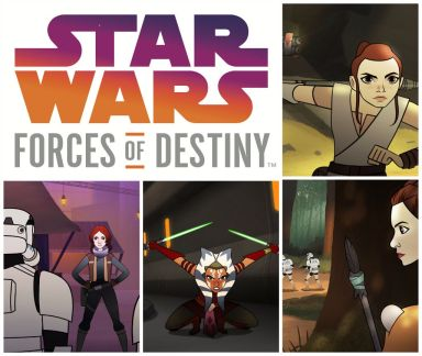 Star Wars Forces of Destiny Show