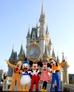 Mickey and friends by Cinderella Castle
