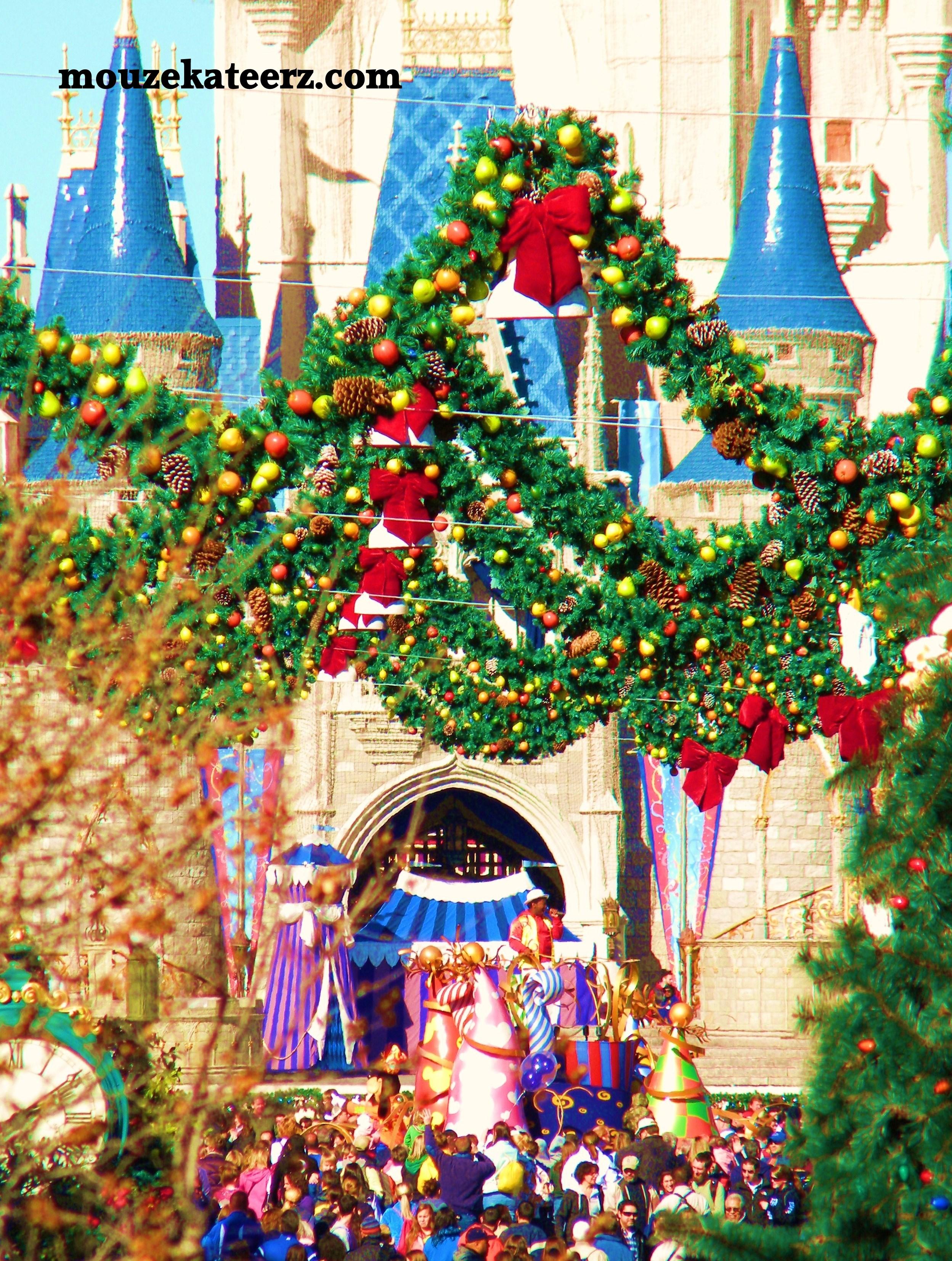 Disney world christmas decorations 2014 - I Ve