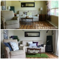 Quick & Easy Living Room Makeover - #IKEAMakeover