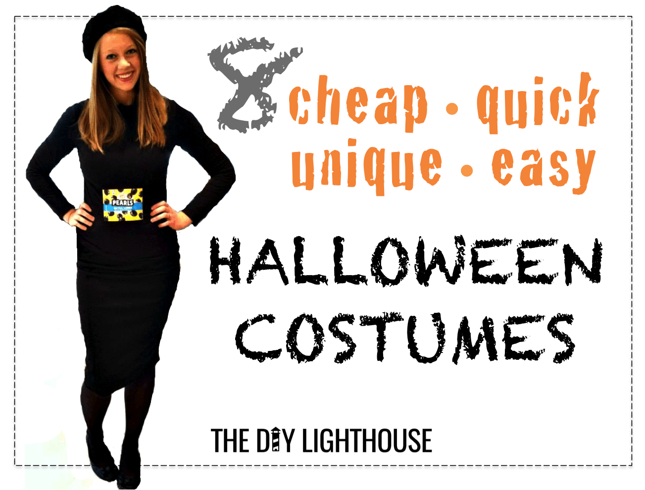 ideas for cheap quick unique easy halloween costumes saveenlarge