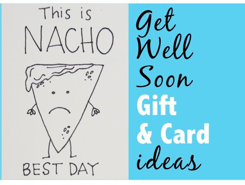 Get Well Soon Gift  Card DIY Ideas - The DIY Lighthouse - get well soon card