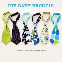 A free pattern and tutorial for how to sew a baby necktie ...