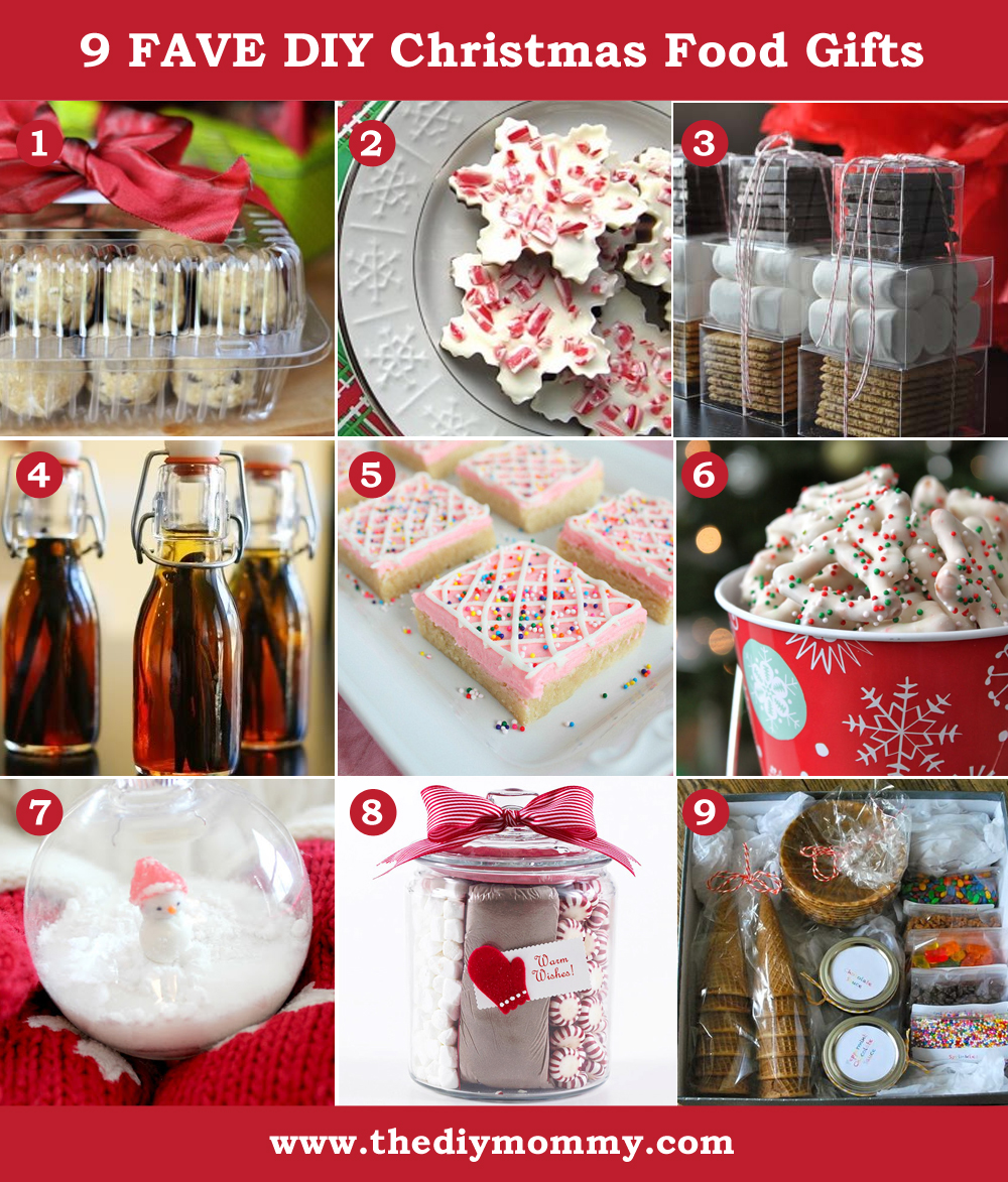 Christmas Homemade Gifts A Handmade Christmas Diy Food Gifts The Diy Mommy