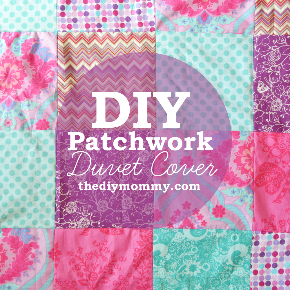 Baby Bettdecken Set How To Sew A Patchwork Child S Duvet Cover The Diy Mommy