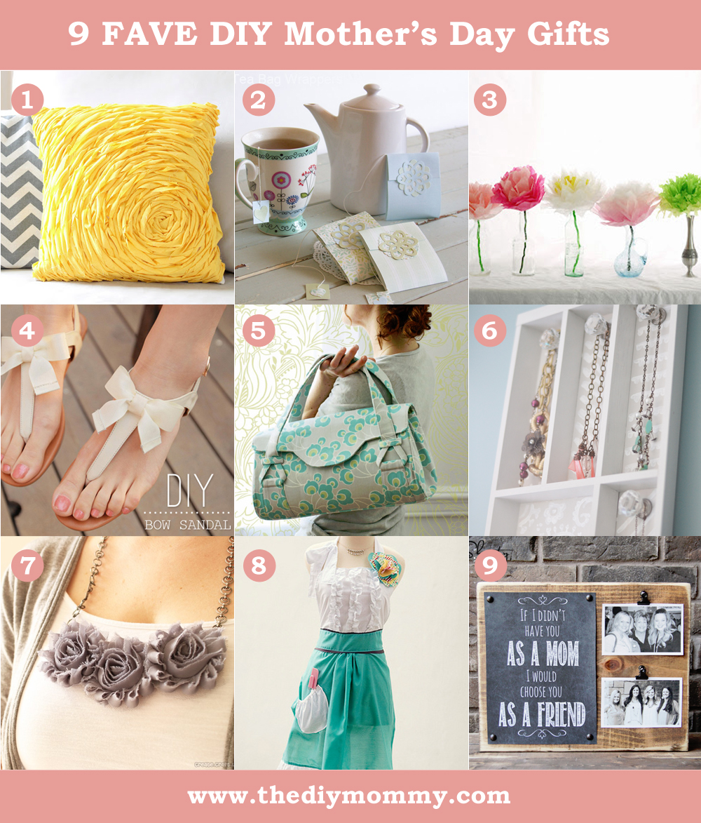 Gift Making Ideas For Mothers Day - LTT