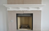 Fireplace Mantel Plans DIY Blueprint Plans Download the ...