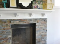 Building Our Fireplace: Installing the Slate Split