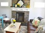 Rustic Farmhouse Glam Living Room