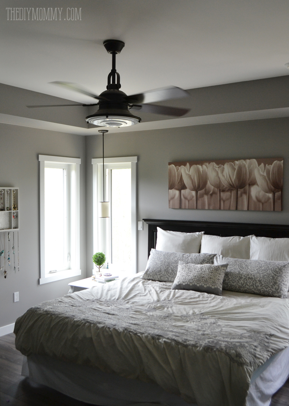 Modern Country Schlafzimmer Our Modern French Country Master Bedroom One Room Challenge