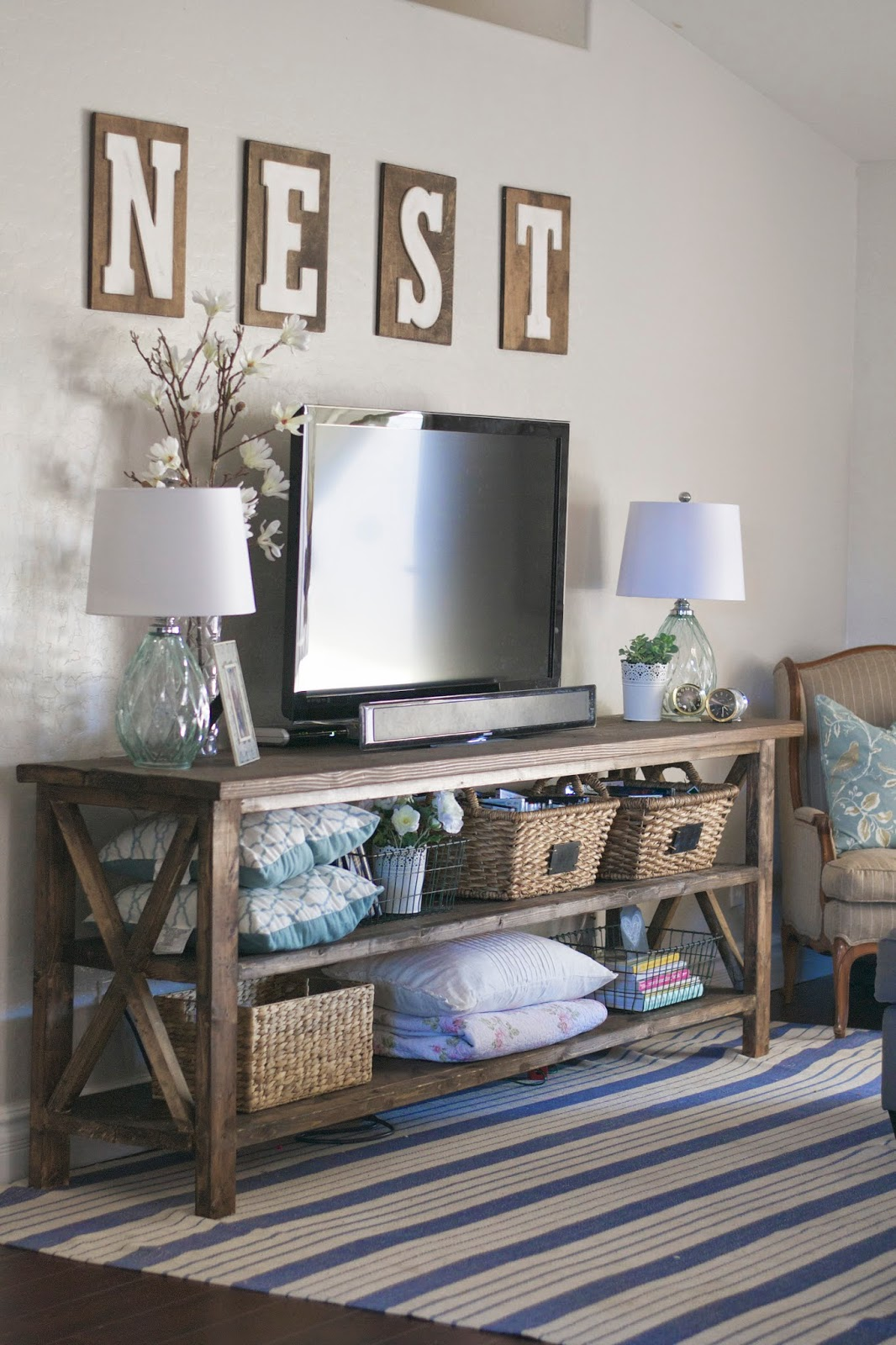 Tv Stand Decor Ideas Make A Jewelry Holder From A Cutlery Tray The Diy Mommy