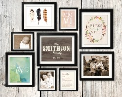 Sturdy Asymmetrical Vintage Rustic Family Gallery Wall Idea Printable Gallery Wall Tips Gallery Wall Layout Ideas Diy Mommy Gallery Wall Layout Generator Gallery Wall Layout Templates 8 X 10 S