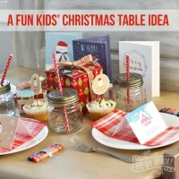 Pictures Of Christmas Table Settings & 24 Inspiring Rustic ...