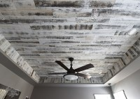How to Install a Rustic Wood Ceiling with Stikwood (One ...