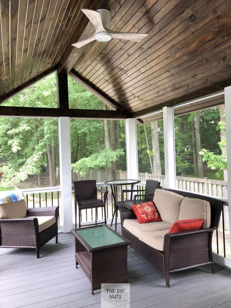 Amazing Composite Decking Screened In Porch Ideas The Diy Nuts