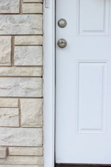 deciding on a front door color