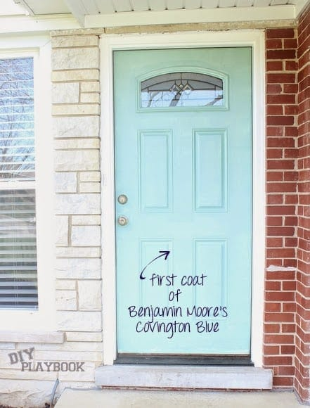 Paint Front Door Blue