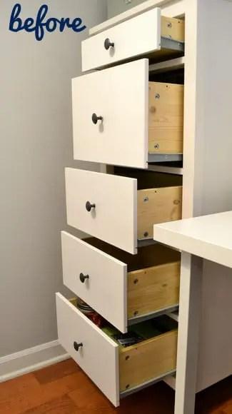 Blank Ikea Hemnes Dresser