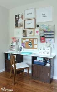 office desk and gallery