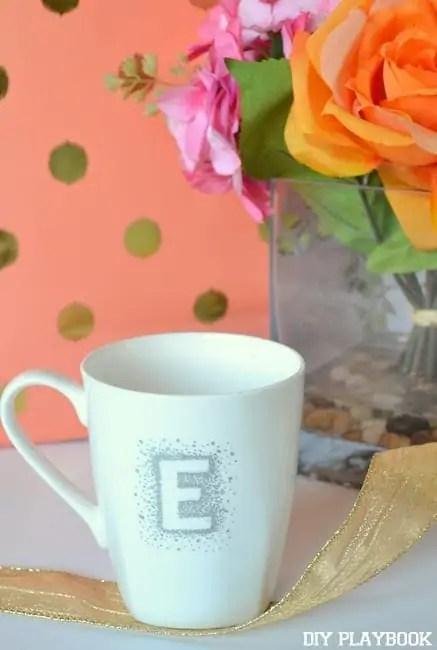 Monogrammed-E-Mug