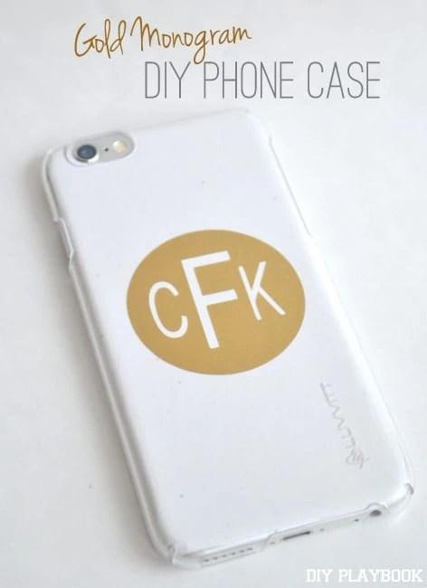 DIY-Monogram-Phone-Case
