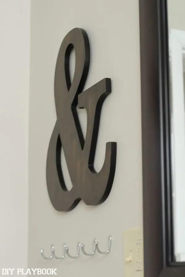 ampersand bathroom