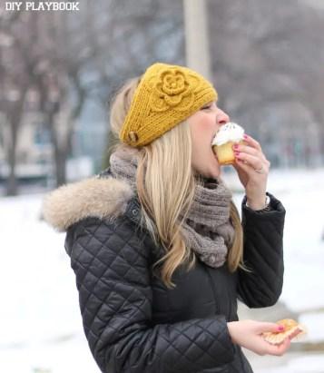 Casey-Eating-Cupcake