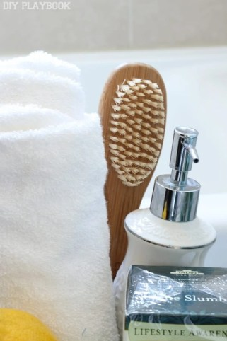 spa brush