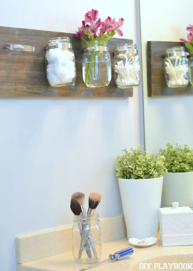 Mason-Jar-Organizer-How-to-clean