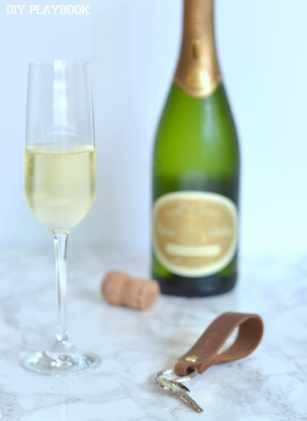 Champagne-New-House-key