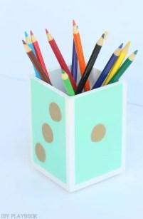 Elmer's pencil holder dorm