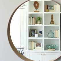 Maggie Built in Shelves Mirror