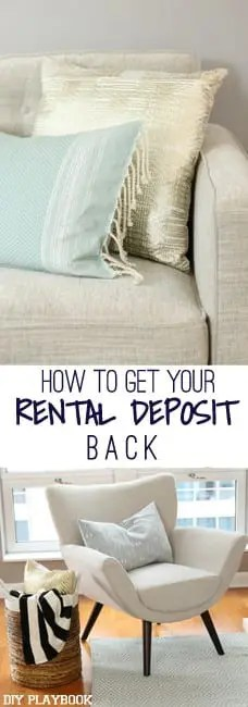 How to get your rental deposit back graphic