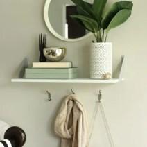 Fall Home Tour Entryway Shelf Decor