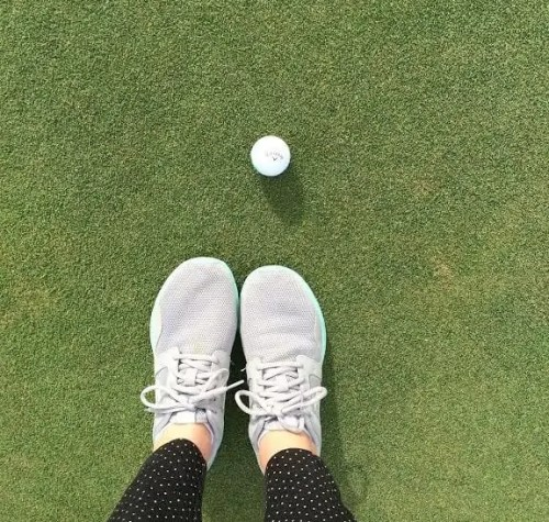golf shoes golfball bridget