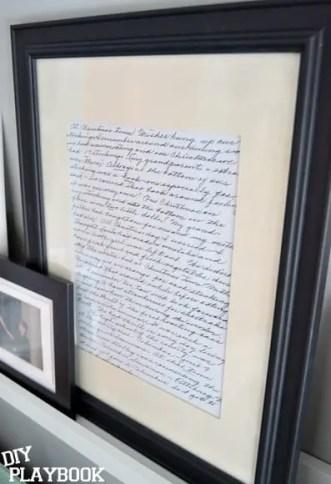 framed-letter-grandma-art
